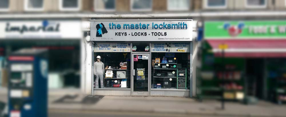 The Master Locksmith Shop Front