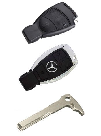 mercedes replacement keys